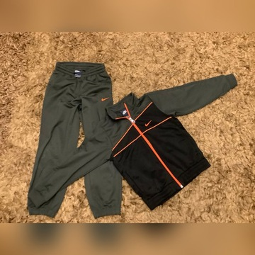 zestaw bluza i spodnie NIKE  roz. 116-122