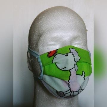 Maska maseczka bawelniana street wear dziecieca