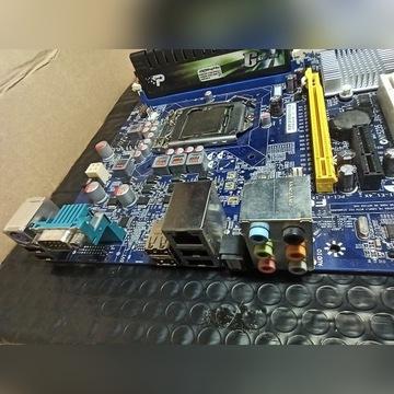 Płyta Foxconn P55MX + I3 - 550 3.2Ghz + 2 GB DDR3