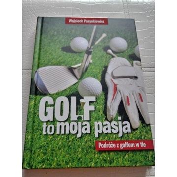 Książka Wojciecha Pasynkiewicza Golf to moja pasja