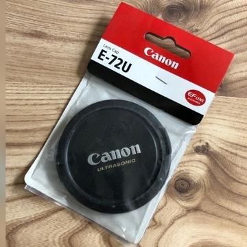 Osłona dekielek na obiektyw do Canona. Canon E-72U