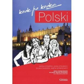 Polski krok po kroku Podręcznik z płytą CD do nauk