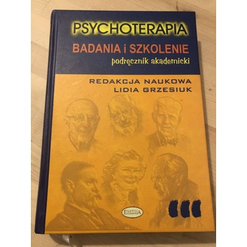 Psychoterapia badania i szkolenie L Grzesiuk