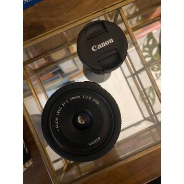 Obiektyw Canon EF-S 24 mm 1.8 makro