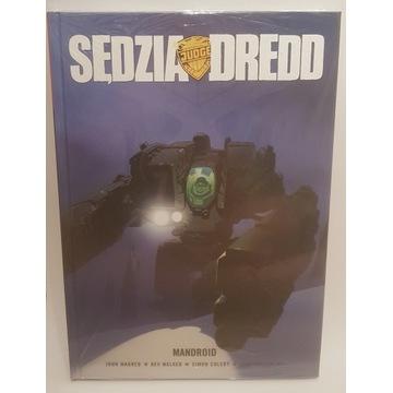 Sędzia Dredd - Mandroid, nowy, folia