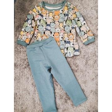 Komplet dresowy dla dziewczynki i chłopca, 86-92