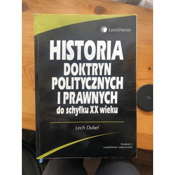 Historia doktryn politycznych Lech Dubel