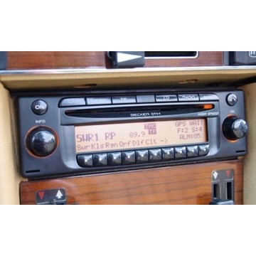 Radio Mercedes Becker dtm MP3 be7910 w126 124 201