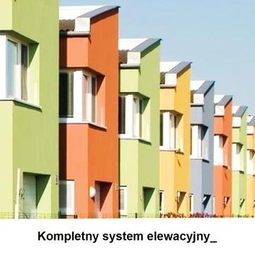 Kompletny system elewacyjny - Styropian 20 cm