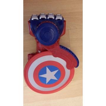 Nerf Avengers Kapitan Ameryka rękawica tarcza