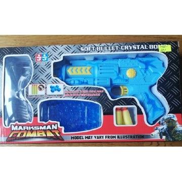 Zabawka pistolet na kulki żelowe