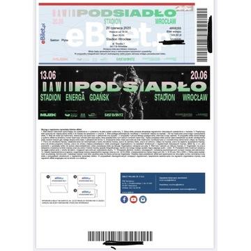 Dwa bilety koncert Dawid Podsiadło Wrocław