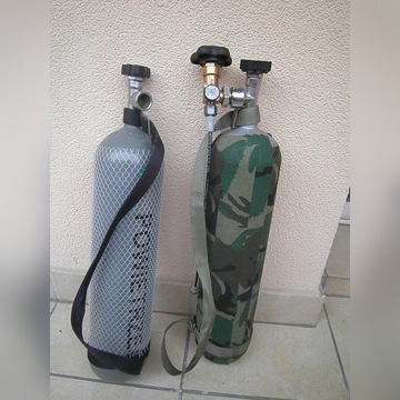 Butla z atestem 4l na 200 bar z orzetoczką do PCP
