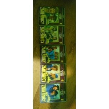 Kolekcja  cd serialu zmiennicy