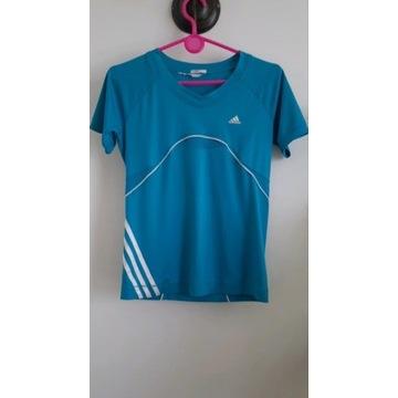 Damska koszulka sportowa Adidas Climacool S/M