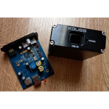 DAC K.GUSS SA9023 ES9018K2M AD823 high-end