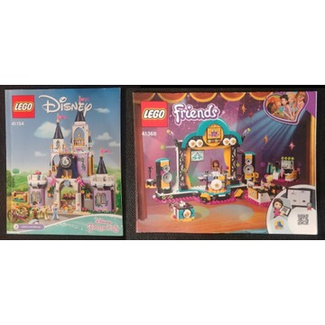 LEGO Disney Princess 41154 i Friends Konkurs 41368