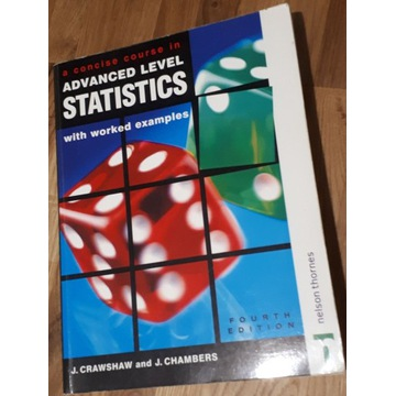 A Concise Course in Advanced Level Statistics