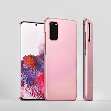Samsung Galaxy s20 RÓŻOWY