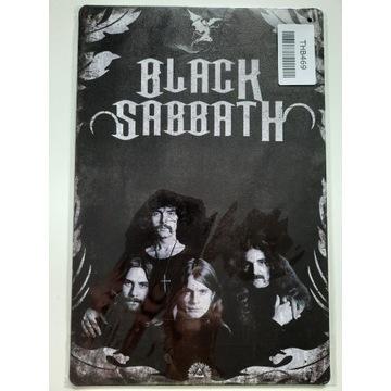 BLACK SABBATH metalowa tablica 20x30cm