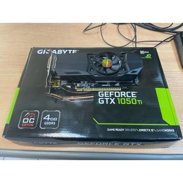 Gigabyte GTX 1050 Ti OC Low Profile 4GB GDDR5 BOX