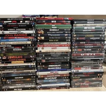 Wielka kolekcja 91 filmów DVD mniej niż 5zł szt.