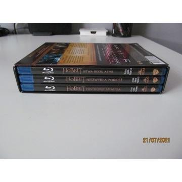Hobbit: Filmowa trylogia [6xBlu-ray]