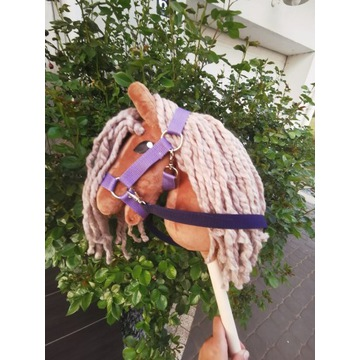 Koń Hobby Horse na kijku + zestaw - Crazy