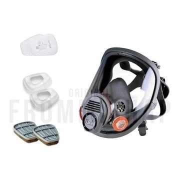 3M Maska 6800 pochłaniacze 6055i + filtry 5935 P3