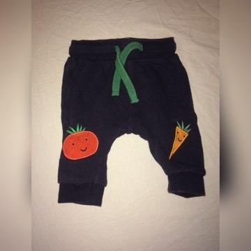 300-3 spodnie dresowe 0-3 msc r.62