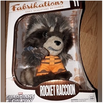GUARDIANS OF THE GALAXY FABRIKATIONS ROCKET FUNKO