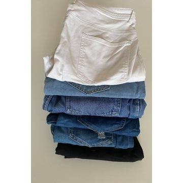 6 par spodni z jeansu M/L