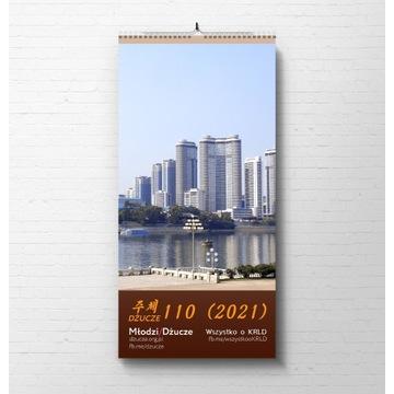 Kalendarz KRLD 2021 (Dżucze 110) - Korea Północna