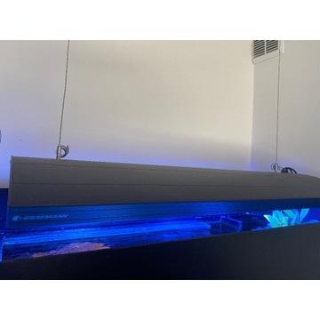 Lampa HYBRYDA Giesemann AURORA 4x39w t5 i LED