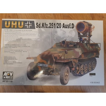 AFV sdkfz 251/20 Ausf.D UHU