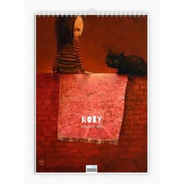 "Krzysztof Iwin - ""Koty"" v.3 kalendarz autorski"