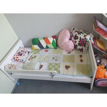 Łóżeczko tapczanik Pinio Mini 140x70 cm + dodatki