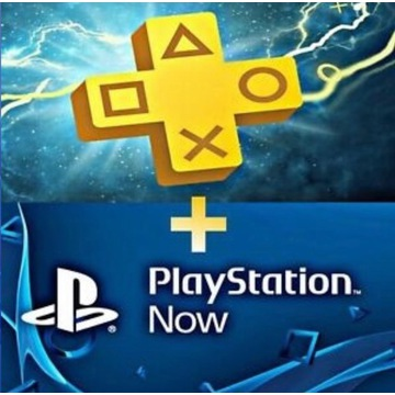 Playstation Plus 14dnix2 + PS Now 7 dni x2 PSN