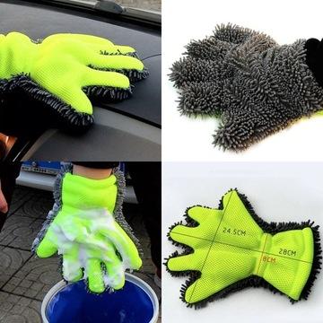 Rękawica do mycia samochodu lub motoru