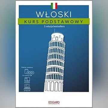 Włoski - Kurs podstawowy. 3 edycja Edgard