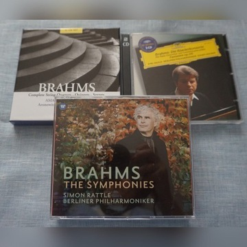 BRAHMS - Symphonies, Chamber Works ......
