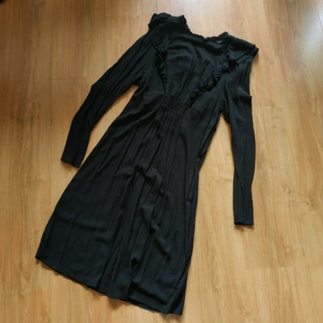 Sukienka z falbankami hm mama s 36 38