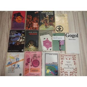 Zestaw starych książek