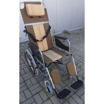 Wózek inwalidzki lekki PROMOCJA  funkcja leżenia