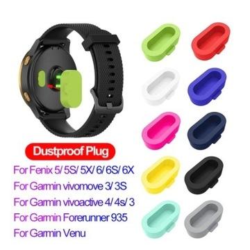 Kolorowe silikonowe zaślepki Garmin
