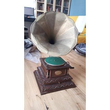 Zabytkowy gramofon His Masters Voice