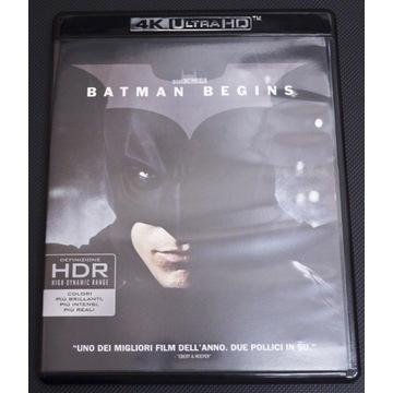Batman początek 4K Nolan