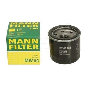 Filtr oleju MANN MW64