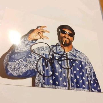 Oryginalny autograf Snoop Dogga