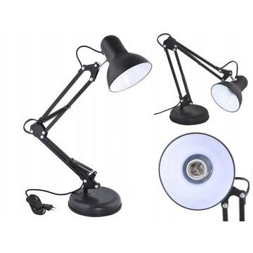 LAMPKA BIURKOWA LAMPA SZKOLNA NA BIURKO KREŚLARSKA